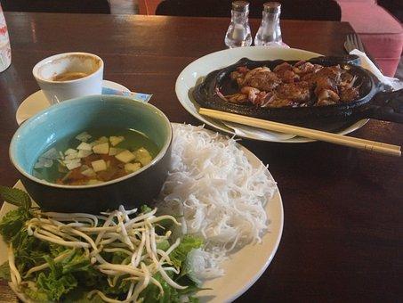 Vietnam, Vietnamese Food, Oriental Food, Rice, Chinese