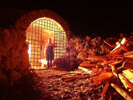 Hell, Fire, Guard, Die, Vision, People, Flames