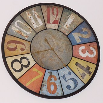 Clock, Time, Wall Clock, Time Announcement