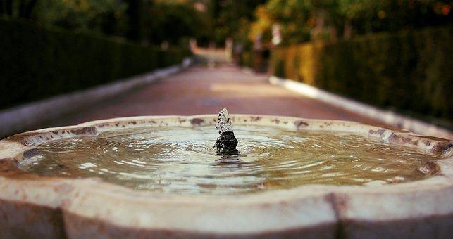 Spain, Spanish, Fountain, City, Landmark, Water