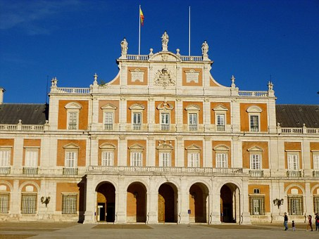 Royal Palace, Aranjuez, Spain, Castle, Heritage