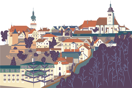 Nove Mesto Nad Metuji, Czech Republic, Artwork