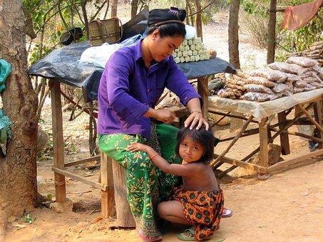 Body Care, Child Welfare, Comb, Asia