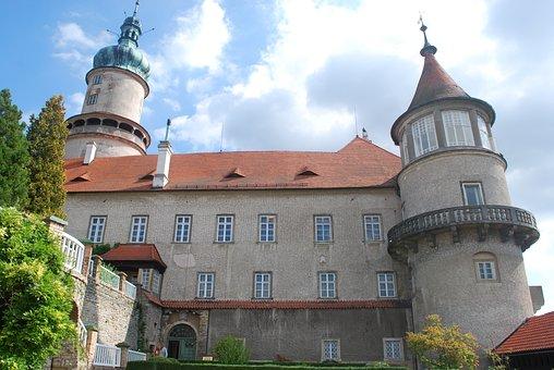 Nove Mesto Nad Metuji, Castle, Architecture