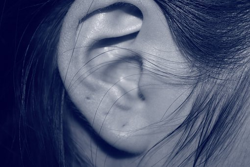 Ear, Girl, Pierced, Close-up, Female, Ear Hole