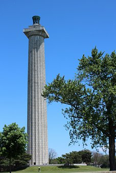 Column, Monument, Perry' Monument, Lake Erie