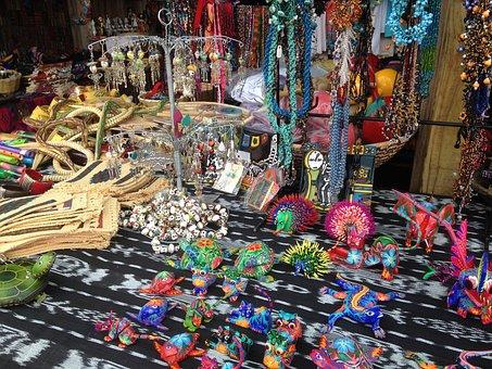 Biju, Jewelry, Market, Fleas, Crafts