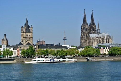 Cologne, Rhine, Dom, Cologne Cathedral