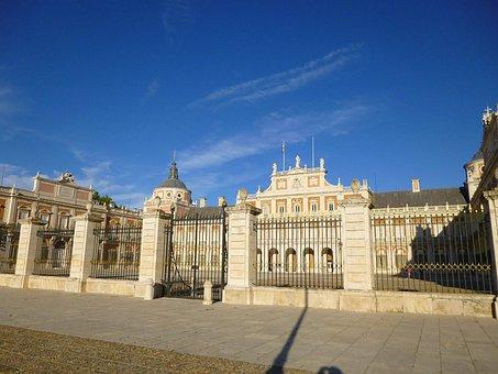 Royal Palace, Aranjuez, Spain, Castle, Heritage