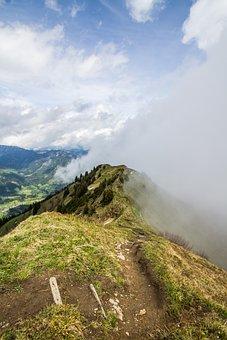 Kanzelwand, Mountain, Riezlern, Allgäu, Nature