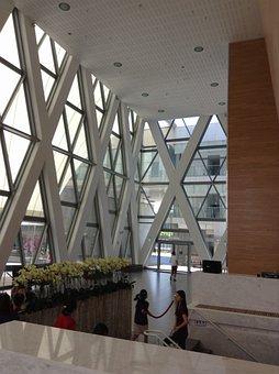 Kaohsiung, Taiwan, Da Dong, Music Center, Travel