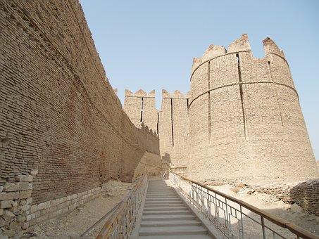 Khairpur, Pakistan, Kot, Fort, Sindh, Dg, Fortress