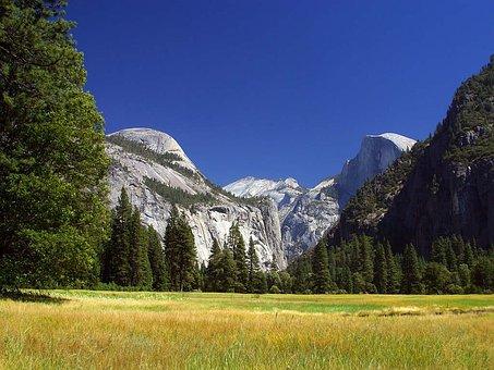 Yosemite, Reported, Valley, Usa, California, Climb
