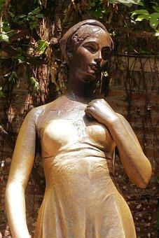 Giulietta, Julia, Romeo And Juliet, Verona, Sculpture