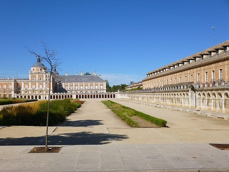 Royal Palace, Aranjuez, Spain, Architecture, Heritage