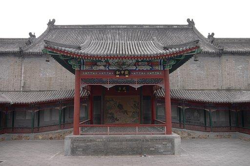 Beijing, The White Cloud Temple, Taoist Temple