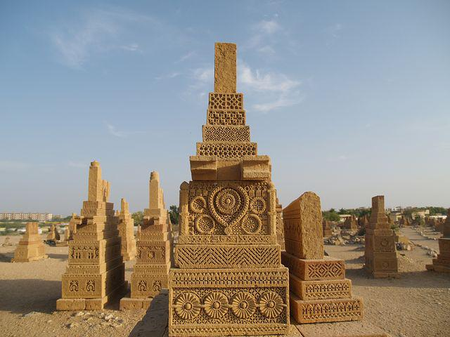 Chaukundi, Tombs, Karachi, Pakistan