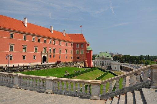 Warsaw, Royal Castle, Castle, The Palace, Monument
