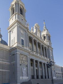 Madrid, Cathedral, Almudena