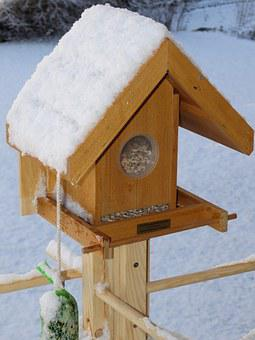 Bird Seed House, Bird Seed, Bird Food, Winter