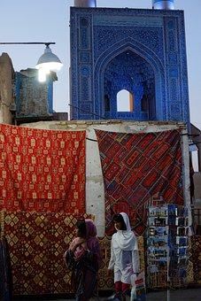 Eran, Mosque, Esfahan, Scarves, Native, Persia
