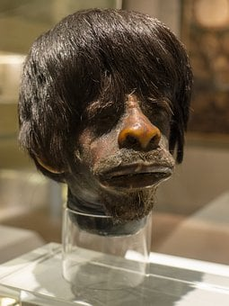 Head, Indian, Jíbaro, Face, Death, Expedition, Amazonia