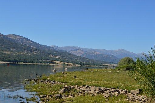 Sierra De Madrid, Mountain, Landscape, Holiday, Summer