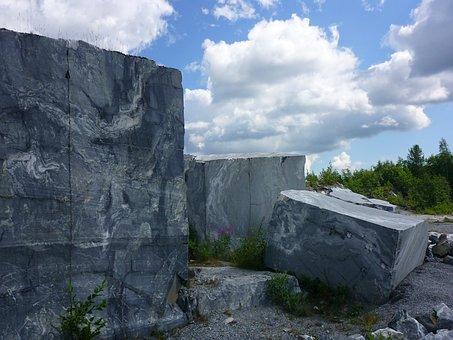 Marble, Karelia, Quarry