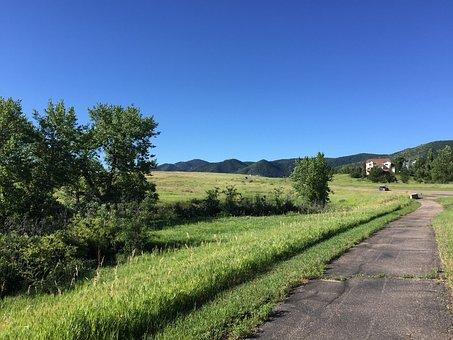 Ken, Caryl, Colorado, Way, Road, Countryside