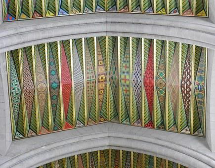 Architecture, Almudena Cathedral, Spain, Ornamentation