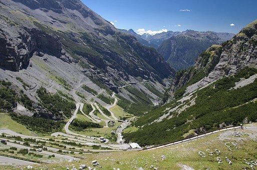 Passo Stelvio, Mountains, Pass