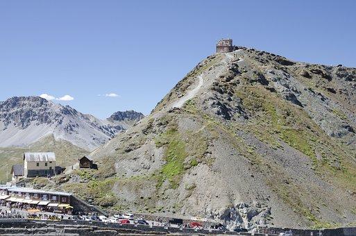 Passo Stelvio, Mountains, Pass, Italy Alps