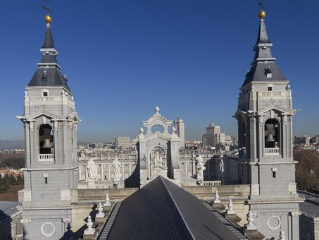 Madrid, Royal Palace, Almudena Cathedral, Monuments