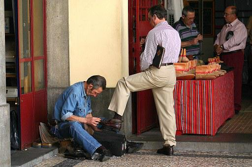 Work, Shoes, Service, Funchal, Madeira