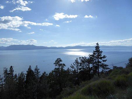 Tahoe, Lake Taho, Usa, Sierra Nevada