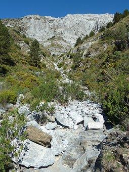 Mountain, Mountain River, Landscape, Sierra Tejeda