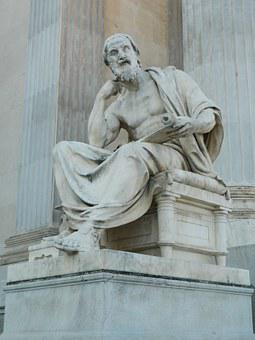 Herodotus, The Statue Of, Philosopher, Antiquity