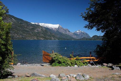 Lake, Bariloche, Argentina, Landscape, Water, Tourism