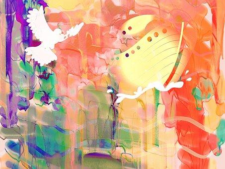 Watercolour, Watercolor, Painting, Paint, Ink, Blend