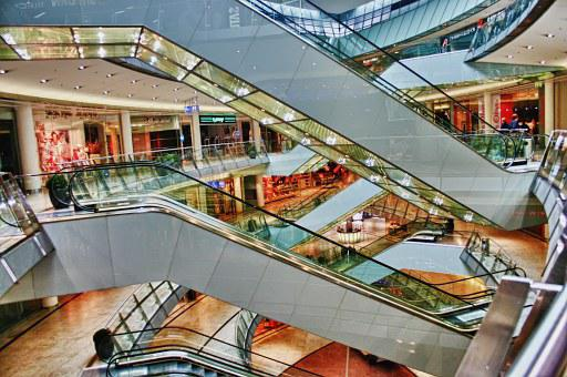 Shopping Centre, Architecture, Kassel