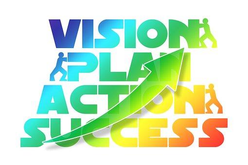 Plan, Action, Success, Concept, Economy, Business