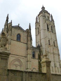 Segovia, Cathedral, Spain, Historic Center, Castile