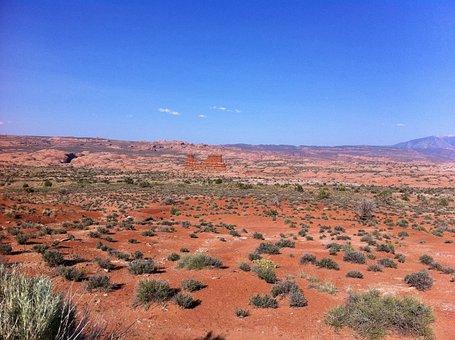 Desert, Scenery, Monument Valley, Travel, Sky, Tourism