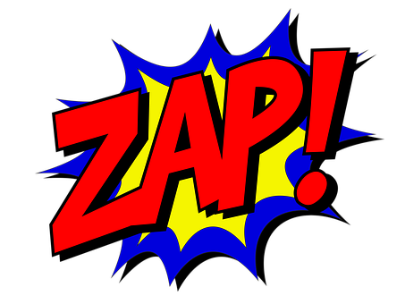 Zap, Comic, Comic Book, Fight, Explosion, Expletive