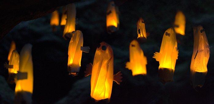 Ghosts, Hattifattener, Moomin, Ghost, Night, Light