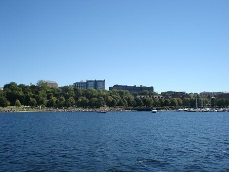 Lake Champlain, Scenic, Water, Shoreline, Landscape
