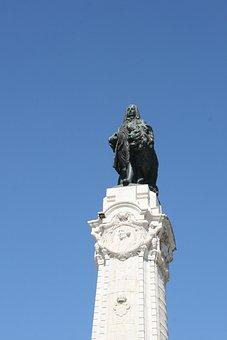 Marquis De Pombal, Low, Lisbon, Portugal