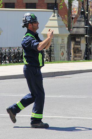 Man, Worked, Men's, Workwear, Helmet