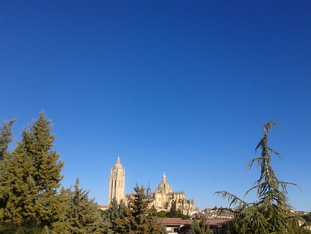 Segovia, City, Monument, Cathedral