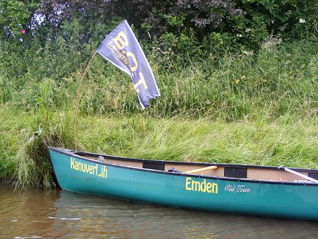 Canoeing, Boot, Paddle Tour, Flag, More